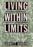 Living within Limits