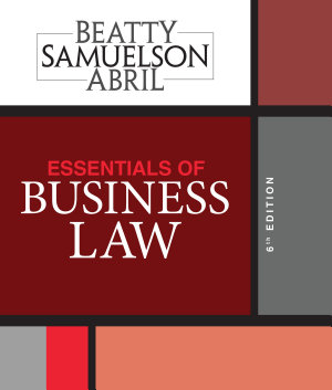 Essentials of Business Law PDF