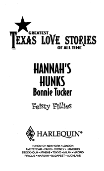 Hannah s Hunks PDF
