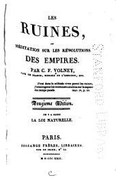 Les Ruines: ou, méditation sur les révolutions des empires