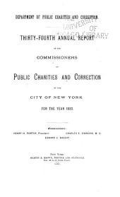 Annual Report ...: Volume 34