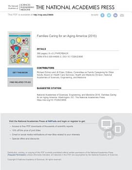 Families Caring for an Aging America PDF