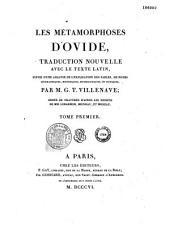 Les métamorphoses d'Ovide: traduction nouvelle avec le texte latin... suivie d'une analyse de l'explication des fables...