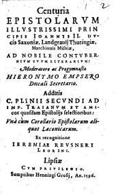 Corollarium Epistolarum aliquot Laconicarum