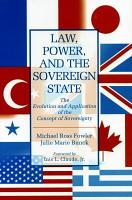 Law  Power  and the Sovereign State PDF