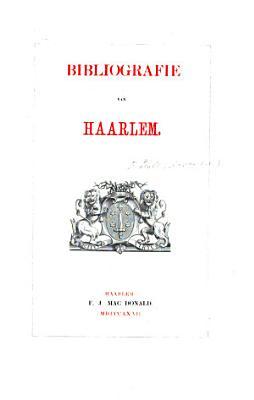 Bibliografie van Haarlem PDF