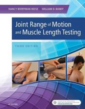 Joint Range of Motion and Muscle Length Testing - E-Book: Edition 3