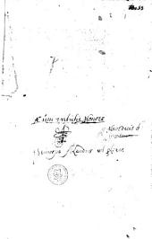 Tractat[us] s[an]c[t]i thome de aquino de regimine principu[m].
