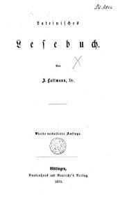 Lateinisches Lesebuch
