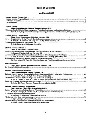 Healthcom 2003 PDF