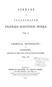 Chemical Technology: Volume 3