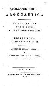 Argonautica: Scholia vetera in Apollonium Rhodium, Τόμος 2