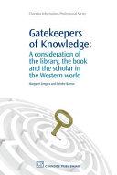 Gatekeepers of Knowledge PDF
