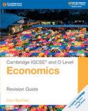 Cambridge IGCSE   and O Level Economics Revision Guide PDF