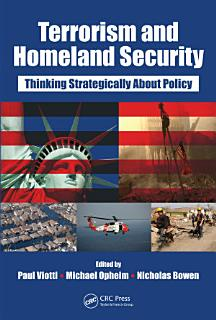 Terrorism and Homeland Security Book