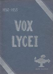 Vox Lycei 1952-1953