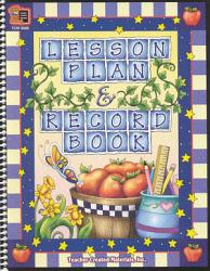 Lesson Plan and Record Book
