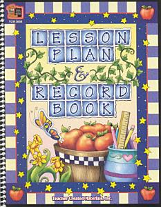 Lesson Plan and Record Book Book