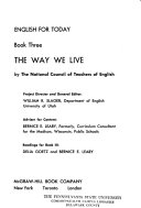 English for Today: The way we live
