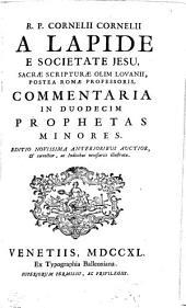 Commentaria In Vetus Et Novum Testamentum: Commentaria In Duodecim Prophetas Minores, Volume 7