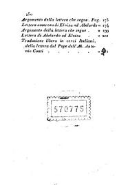 Vita amori e lettere di Abelardo ed Eloisa traduzione di Andrea Metrà