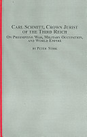 Carl Schmitt  Crown Jurist of the Third Reich PDF