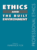 Ethics and the Built Environment PDF