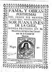 Fama y obras postumas del Febix de México