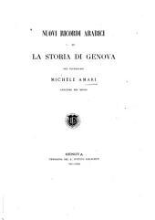 Nuovi ricordi arabici su la storia di Genova