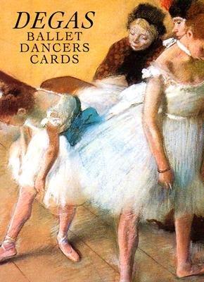 Six Degas Ballet Dancers Cards