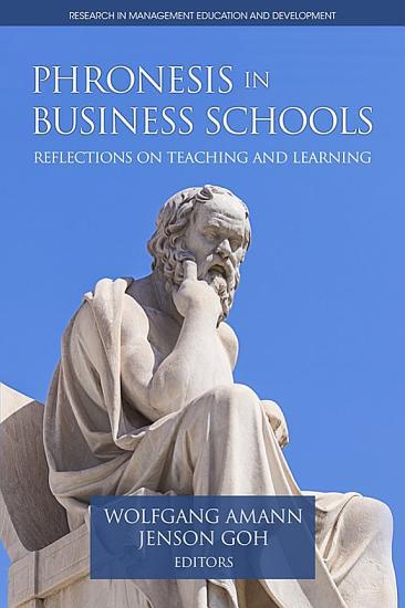 Phronesis in Business Schools PDF