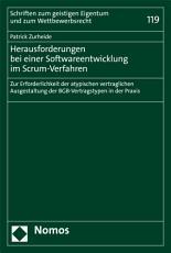Herausforderungen bei einer Softwareentwicklung im Scrum Verfahren PDF