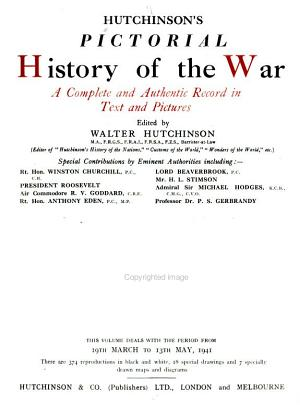 Hutchinson s Pictorial History of the War PDF