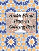 Arabic Floral Patterns Coloring Book PDF