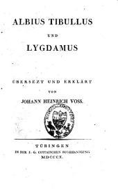 Albius Tibullus und Lygdamus