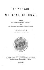 Edinburgh Medical Journal: Volume 12; Volume 16