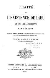 Traité de l'existence de Dieu et de ses attributs