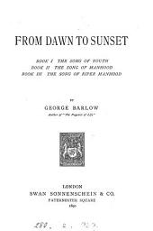From Dawn to Sunset...: Book 3
