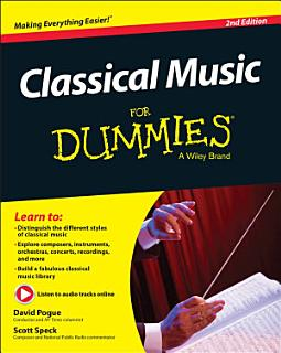 Classical Music For Dummies Book