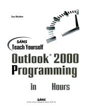 Sams Teach Yourself Outlook 2000 Programming in 24 Hours PDF