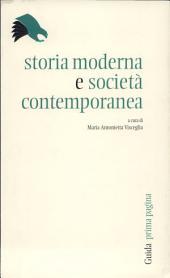 Storia moderna e società contemporanea