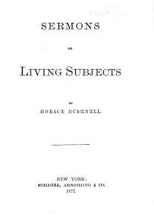 Sermons on Living Subjects