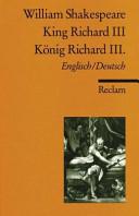 King Richard the Third III