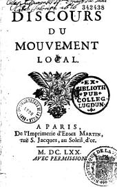 Discours du mouvement local