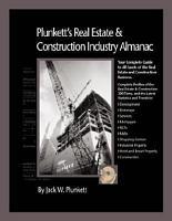 Plunkett s Real Estate   Construction Industry Almanac 2007  Real Estate   Construction Industry Market Research  Statistics  Trends   Leading Compani PDF