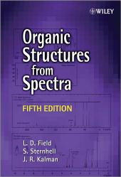 Organic Structures from Spectra: Edition 5