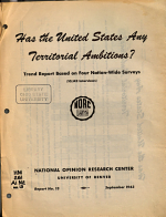 Has the United States Any Territorial Ambitions  PDF