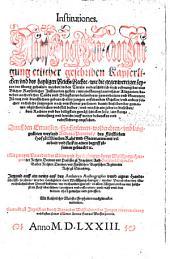 Institutiones: Gerichtlicher Prozeß : Lehenrecht ; Ain newe Halßgerichtsordnung ; Summa Rolandina