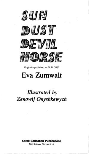 Sun Dust Devil Horse