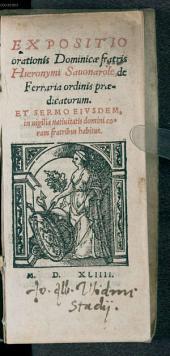 Expositio orationis dominicae
